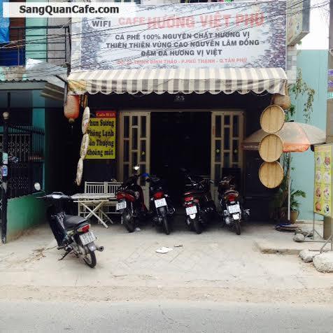 Sang quán cafe mặt tiền  đường Trịnh Đình Thảo