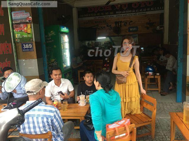 Sang quán cafe mặt tiền 389 Nguyễn Văn Luông, P. 12, Quận 6