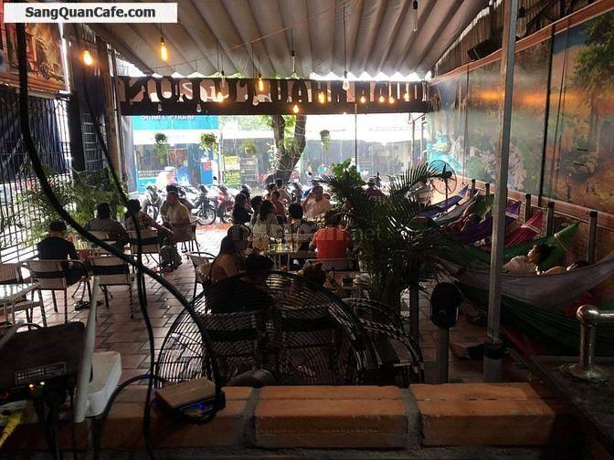 Sang quán cafe mặt tiền đẹp, rộng