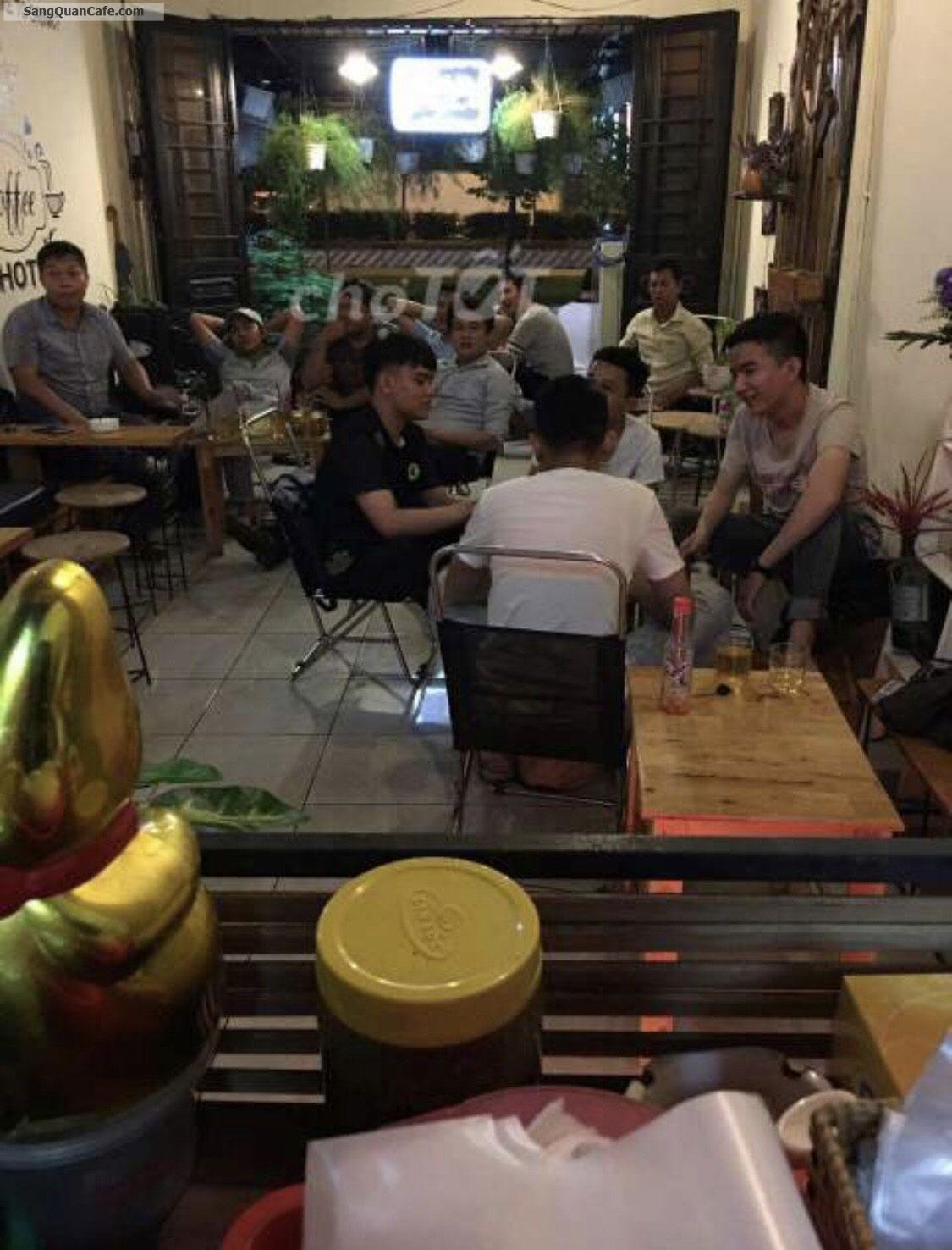 Sang quán cafe mặt tiền