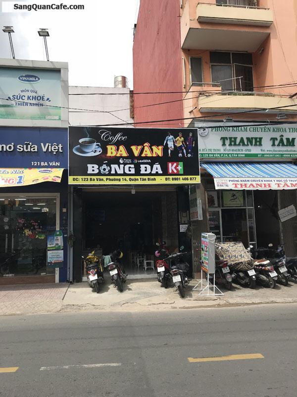 Sang quán Cafe mặt tiền Ba Vân
