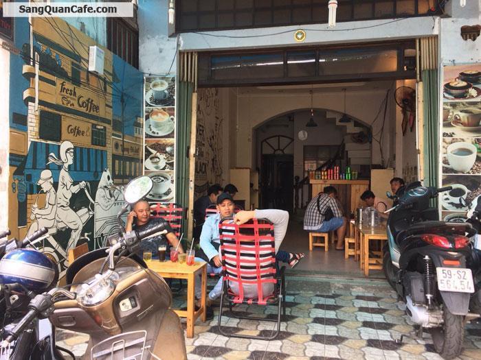 Sang quán cafe mặt tiền Bùi Đình Túy