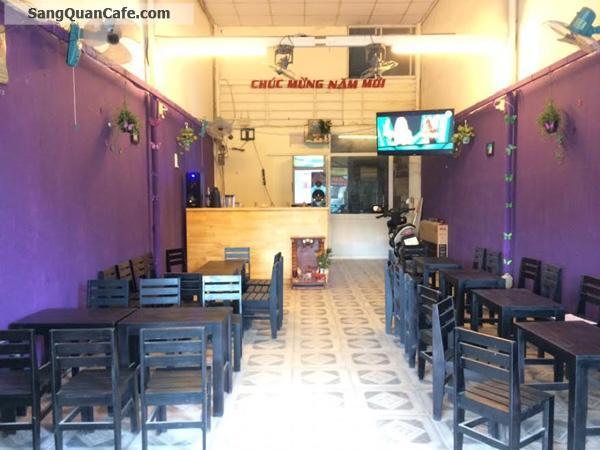Sang Quán Cafe mặt tiền Cao Lỗ quận 8
