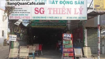 Sang quán cafe mặt tiền - chòi võng quận 9