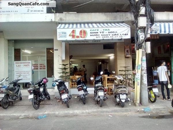 Sang quán Cafe mặt tiền Chung Cư Hùng Vương