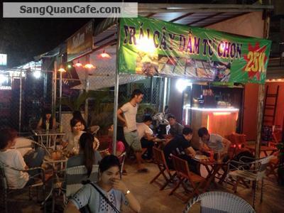 Sang quán cafe mặt tiền chung cư K26