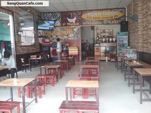 Sang quán cafe mặt tiền đối diện trường học