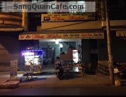 Sang quán cafe mặt tiền đường Bàu Cát 1