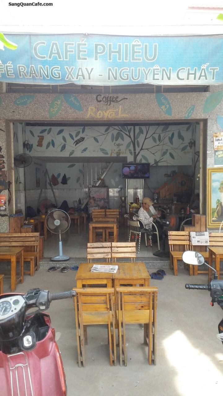 Sang quán cafe mặt tiền đường Bờ Bao Tân Thắng