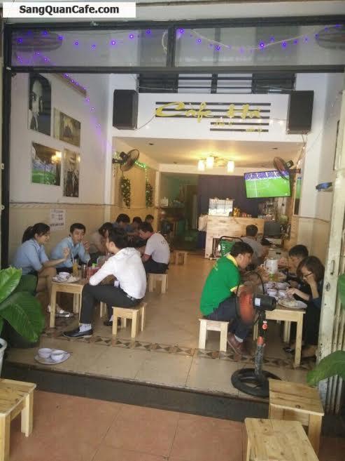 Sang quán cafe mặt tiền đường Chu Văn An