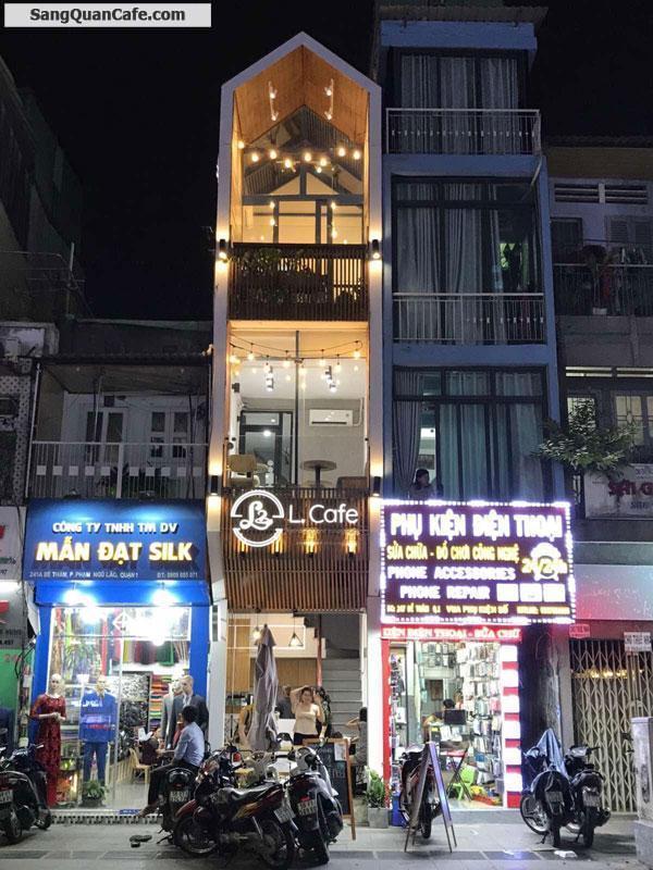 Sang quán Cafe Mặt tiền đường Đề Thám, Q.1