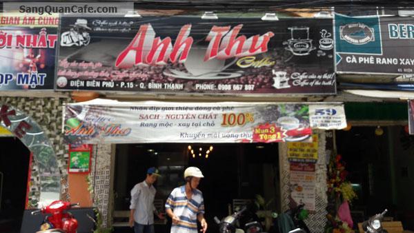 Sang quán cafe mặt tiền đường Điện Biên Phủ