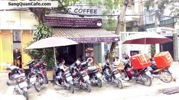 Sang quán cafe mặt tiền đường Hoàng Hoa Thám