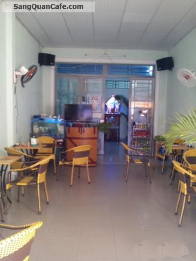 Sang quán cafe mặt tiền đường Huỳnh Tấn Phát