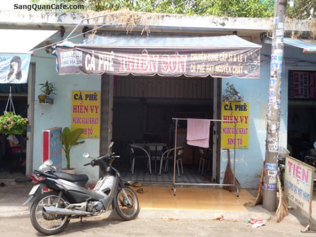 Sang quán cafe mặt tiền đường lớn