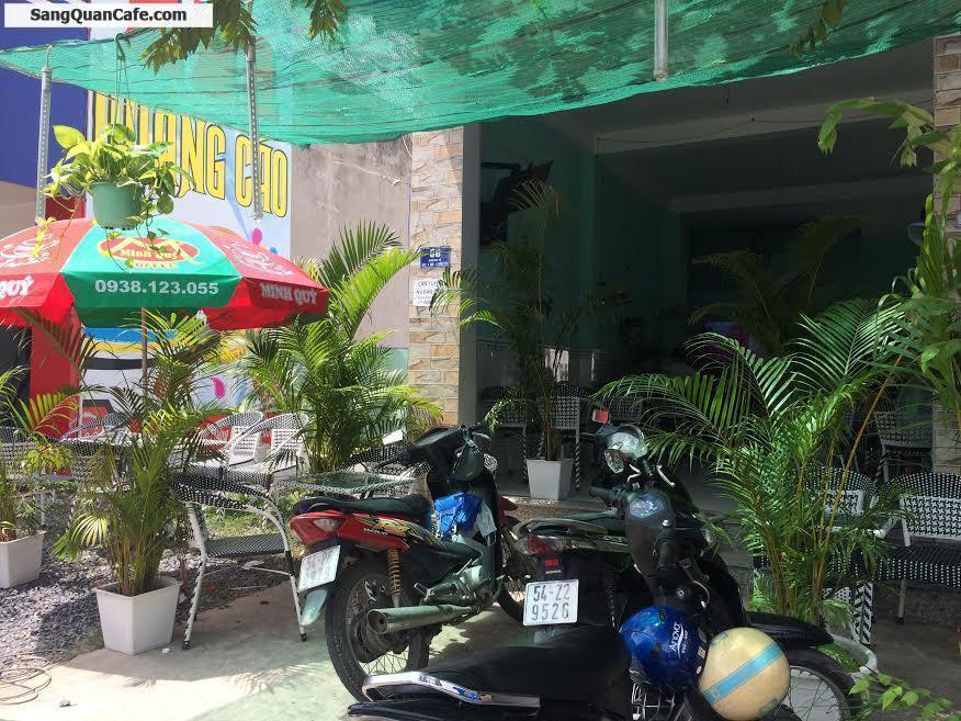 Sang quán cafe mặt tiền đường M1 giữa 2 khu công nghiệp