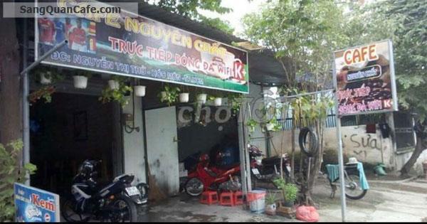 Sang quán cafe mặt tiền đường Nguyễn Thị Thử