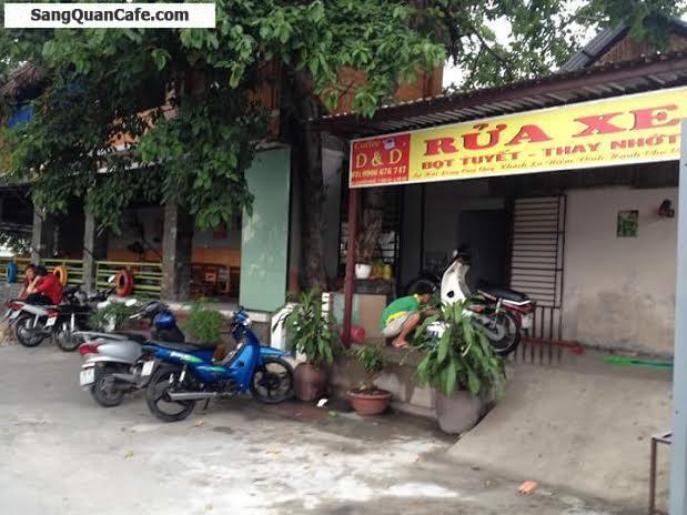 Sang quán cafe mặt tiền đường Nguyễn Văn Bá
