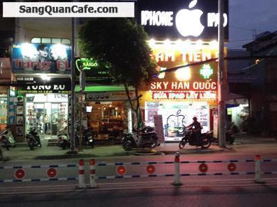 Sang quán cafe mặt tiền đường Nguyễn Văn Lượng
