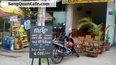 Sang quán cafe mặt tiền đường Nơ Trang Long