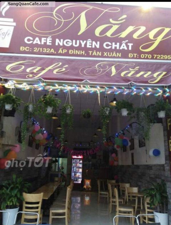 Sang quán cafe mặt tiền đường Song Hành