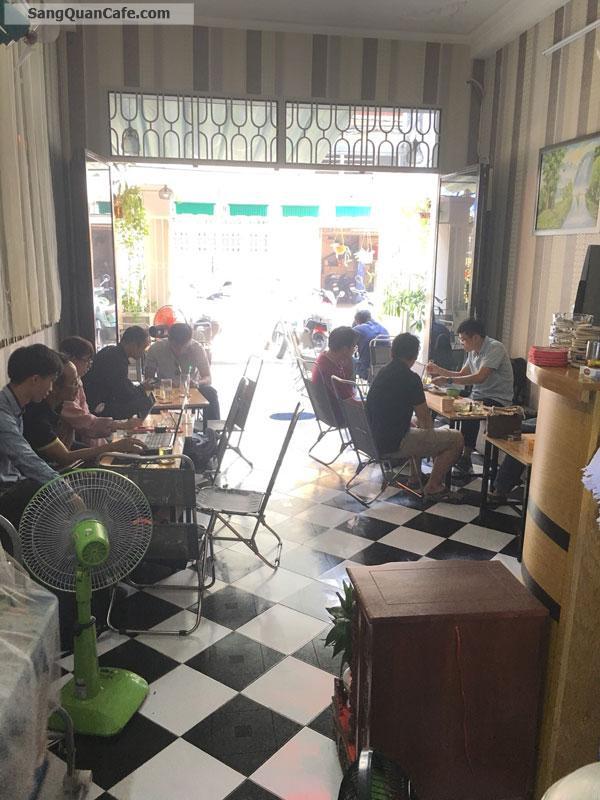 Sang quán cafe mặt tiền đường Tân Hải