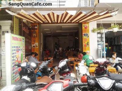 Sang quán cafe mặt tiền đường Tân Sơn Nhì