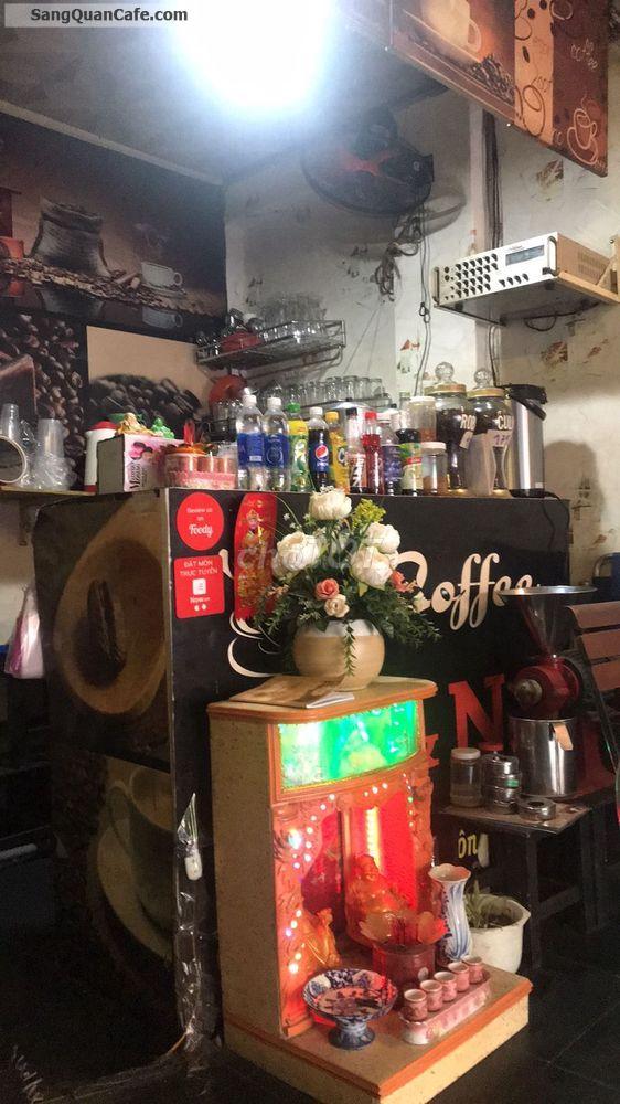 Sang quán cafe mặt tiền đường Tô Hiệu