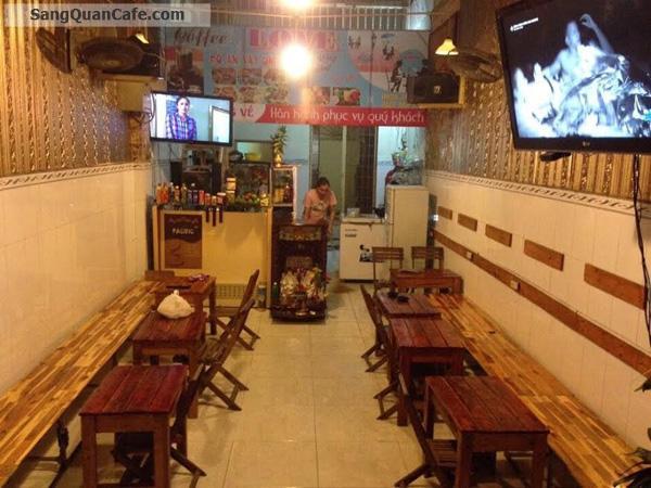 Sang quán cafe mặt tiền đường Trần Xuân Soạn