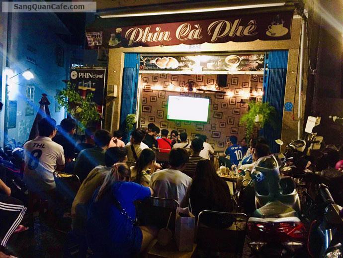Sang quán cafe mặt tiền đường Trường Sa