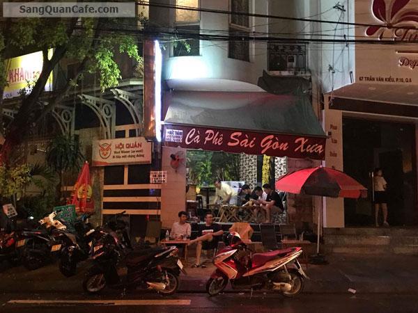 Sang quán Cafe mặt tiền góc, Giá thuê : 4,5 triệu