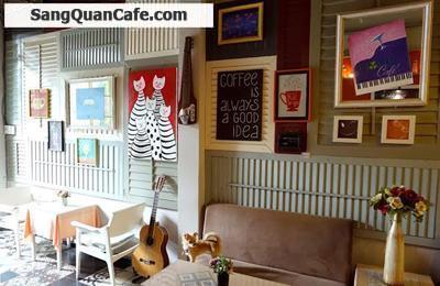 Sang quán cafe mặt tiền Hồ Biểu Chánh
