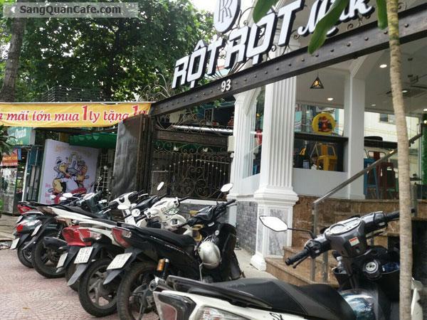 Sang Quán Cafe mặt tiền Hoàng Sa