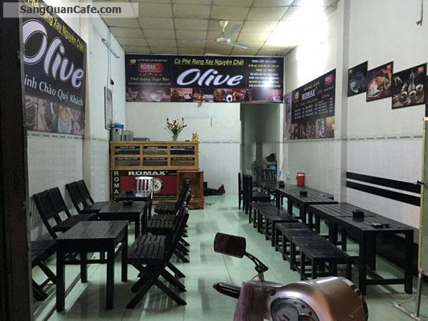 Sang quán cafe mặt tiền Huỳnh Thị Hai