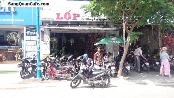 Sang quán cafe mặt tiền kênh Tân Hóa