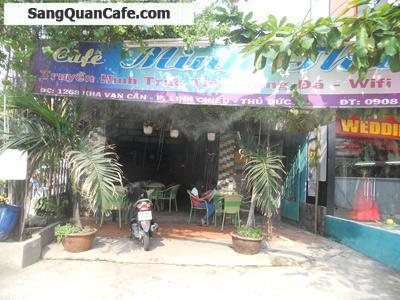 Sang quán cafe mặt tiền Kha Vạn Cân, Q.Thủ Đức