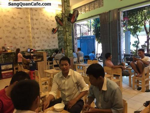Sang quán cafe mặt tiền khu Bàu Cát