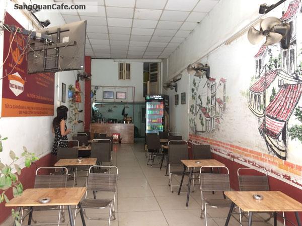Sang quán cafe mặt tiền khu quận 8