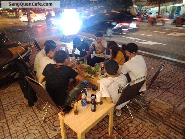Sang quán cafe mặt tiền khu sân bay