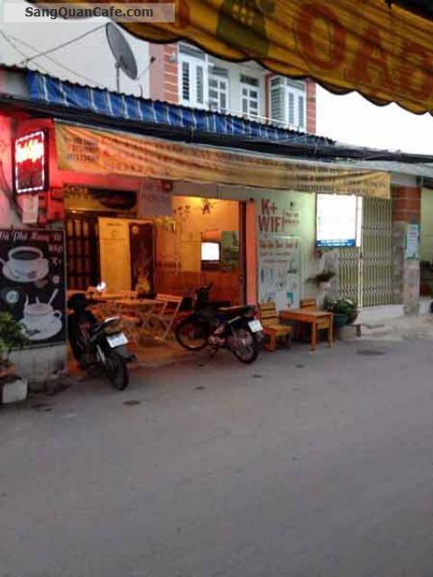 Sang quán cafe mặt tiền khu trung tâm quận 4