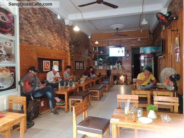 Sang quán cafe mặt tiền lớn