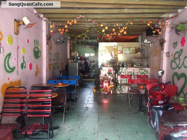 Sang quán cafe mặt tiền Mã Lò