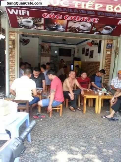 Sang quán cafe mặt tiền quận Tân Bình