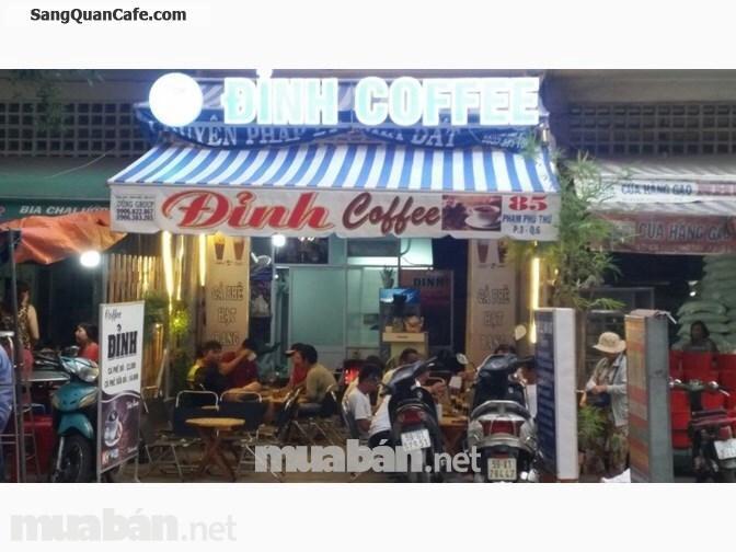 Sang quán cafe mặt tiền Phạm Phú Thứ