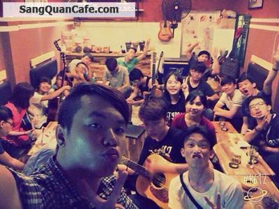 Sang quán cafe mặt tiền quận 1