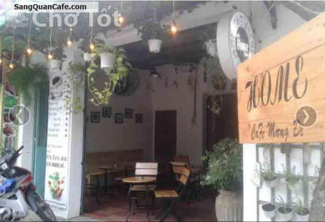 Sang quán cafe mặt tiền quận 12