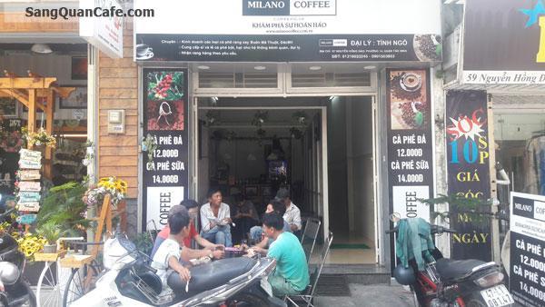 Sang quán cafe mặt tiền quận Tân Bình.