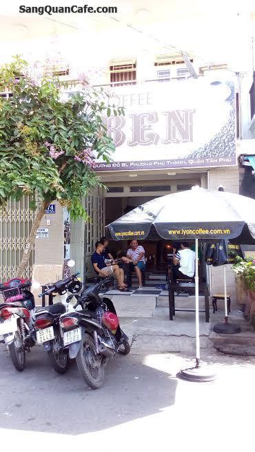 Sang quán cafe mặt tiền quân Tân Phú