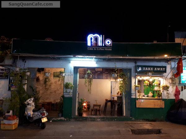 Sang quán cafe mặt tiền quận Thủ Đức