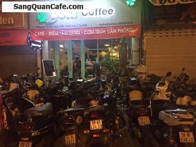 Sang quán cafe mặt tiền trung tâm quận 1